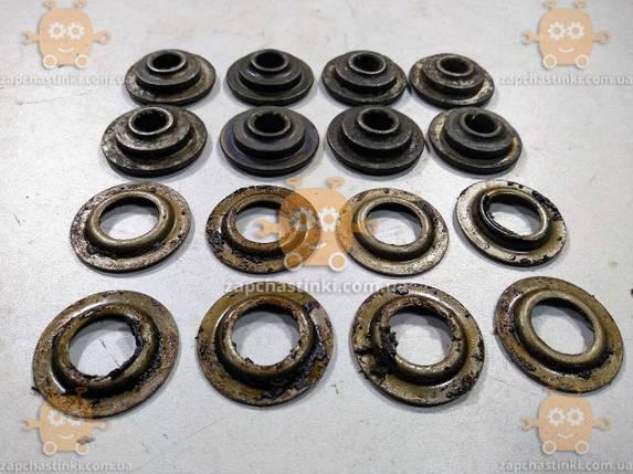 Тарелка клапана Волга 2401 (к-кт 16шт) (шайба пружины клапана) для двиг. С 8-ми пружинами (и старые УАЗы), фото 2