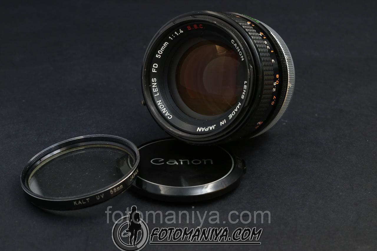 Canon FD 50mm f1.4 S. S. C