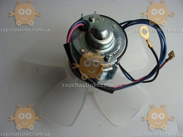 Моторчик печки ВАЗ 2101 - 2107 на подшипниках (электродвигатель отопителя) (пр-во г. Самара Россия)