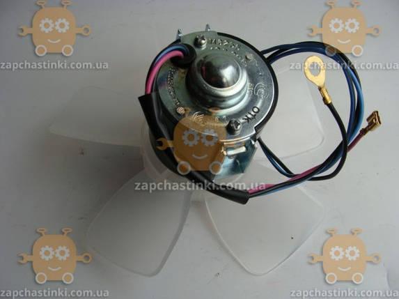 Моторчик печки ВАЗ 2101 - 2107 на подшипниках (электродвигатель отопителя) (пр-во г. Самара Россия), фото 2