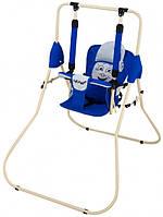 Качель напольная Babyroom Casper  синий - светло-серый