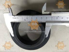 Прокладка пружины задней Таврия, Славута (2шт) резина (пр-во Украина) Габариты: наружный диаметр ф105мм, посадочный ф77мм, высота 23мм, толщина 12мм, фото 2