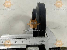 Прокладка пружины задней Таврия, Славута (2шт) резина (пр-во Украина) Габариты: наружный диаметр ф105мм, посадочный ф77мм, высота 23мм, толщина 12мм, фото 3