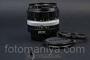 Nikkor-O 35mm f2.0 Non-Ai