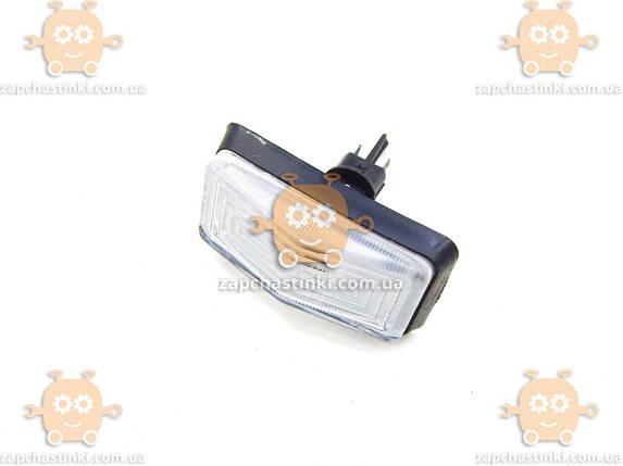 Повторитель поворота ВАЗ 2105, 2107 белый клипса с патроном (пр-во Россия) ПД 94744, фото 2