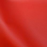 Мебельная ткань кожзам долларо красный