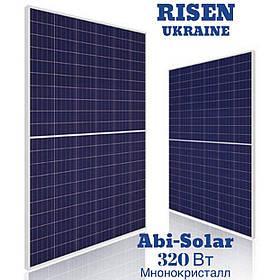 ABi-Solar АВ320 солненая панель 60M, 320 Wp, Монокристал PV мoдуль