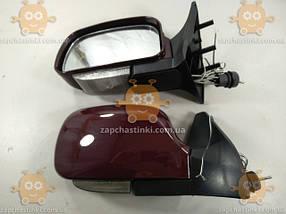 Зеркала ВАЗ 2108 - 21099, 2113 - 2115 ТЮНИНГ (2шт) бардовые с поворотами (пр-во KING Польша), фото 2