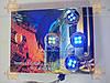 Подсветка неон УНИВЕРСАЛЬНАЯ! СИНЯЯ (4шт круглые) с проводами ОЧЕНЬ МОЩНЫЕ! (пр-во KING Польша), фото 2