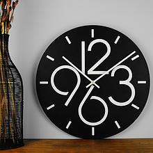 Часы настенные 35 см Glozis Dublin B-029 (черные)
