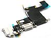 Apple iPhone 6 Шлейф разъема зарядки с микрофоном и гарнитурой белый