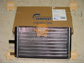 Радиатор отопителя Москвич 2141 ИЖ, АЗЛК алюминевый (пр-во TEMPEST Тайвань)