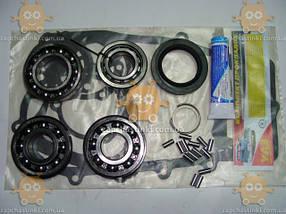 Р-к КПП ГАЗ 53, 66, 3307, ПАЗ (комплектность: прокладки кпп, сальник, герметик, стопорные кольца, подшипник 50, фото 2