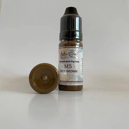 Пигменты Magic Cosmetic Grey Brown M5, фото 2