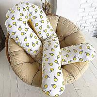 Подушка для беременных L - 120 см + крутая наволочка