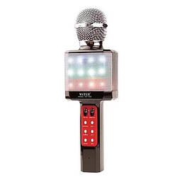 Беспроводной светящийся микрофон WSTER WS-1828 Караоке