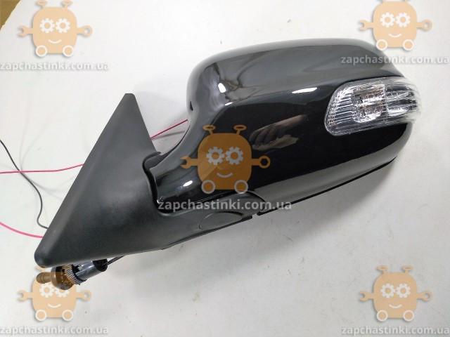 Зеркало Волга 3110 - 31105 левое (черное) с поворотом (механика) (пр-во Россия)