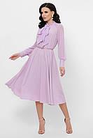 Женское  платье лавандового цвета