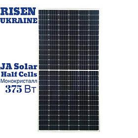 Солнечная панель JA SOLAR JAM72S03-375/SC 375 WP (HALFCELLS), MONO