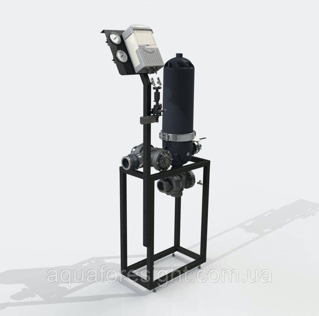 Автоматический дисковый фильтр ADF 116A-S (5-50 micron) до 17 м3/ч