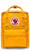 Рюкзак FJALLRAVEN KANKEN CLASSIC Желтый. Рюкзаки молодежные. Городской рюкзак