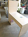 Маникюрный стол с мощной вытяжкой, полкой для лаков и ящиком карго., фото 9