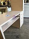 Маникюрный стол с мощной вытяжкой, полкой для лаков и ящиком карго., фото 8