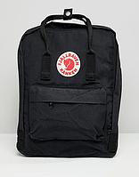 Рюкзак FJALLRAVEN KANKEN CLASSIC Черный. Рюкзаки молодежные. Городской рюкзак