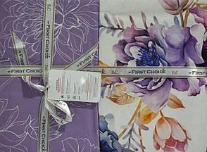 Комплект постельного белья First Choice Ranforce Deluxe евро Orline, фото 2