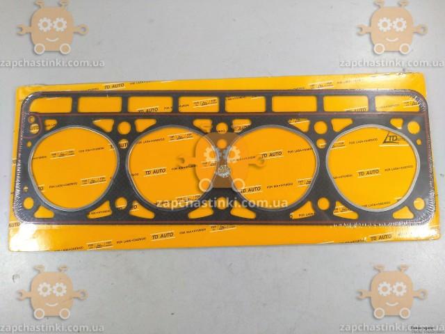 Прокладка головки блока Волга 2401, Газель (старого образца) прогерметизированная (пр-во TD Auto Чехия)