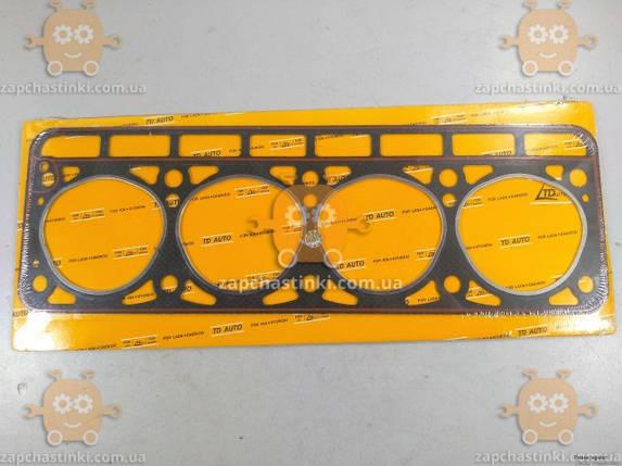 Прокладка головки блока Волга 2401, Газель (старого образца) прогерметизированная (пр-во TD Auto Чехия), фото 2