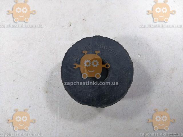 Подушка опоры двигателя ЗИЛ нижняя (пр-во Самара Россия) ПД 14424 Габариты: диаметр ф52мм, высота 18мм, отверстие на ф18мм