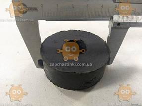 Подушка опоры двигателя ЗИЛ нижняя (пр-во Самара Россия) ПД 14424 Габариты: диаметр ф52мм, высота 18мм, отверстие на ф18мм, фото 3