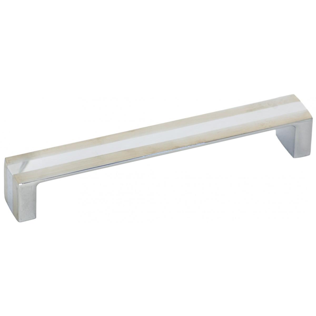 Ручка меблева Ozkardesler MIKRA 5304-022/06 160мм Сталь-Хром-Сталь