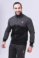 Мужской спортивный костюм с шевроном