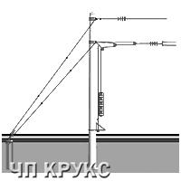 Анкерная оттяжка тип АК-1