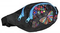 Поясная сумка Paso BDA-589 разноцветная