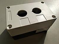 Корпус для установки кнопок, 2 отверстия