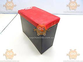Подлокотник ВАЗ 2107 ТЮНИНГ! Красный (широкий 13см) также на 2101 - 2106 подходит (пр-во Россия) ПИР 20375, фото 3