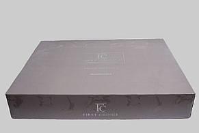 Комплект постільної білизни First Choice Ranforce Deluxe євро Gala pudra, фото 2