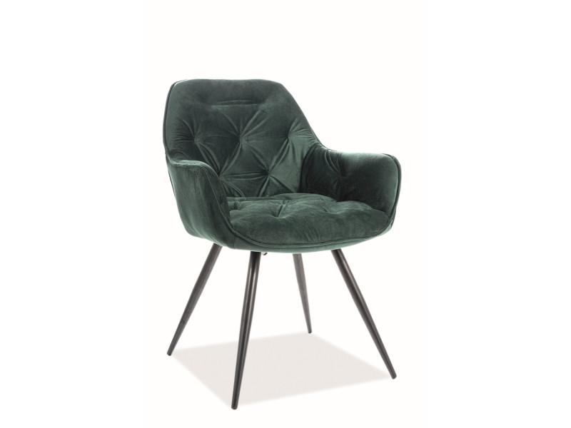 Кресло CHERRY VELVET зеленый (Signal)