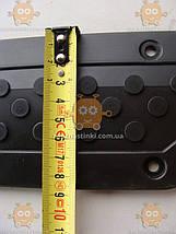 Накладка порога УАЗ 469, Хантер HUNTER (подножки) (пр-во Ульяновск Россия) Размер: длина - 285мм, ширина -, фото 2