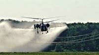 Обработка полей при помощи авиации!