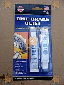Средство для устранения писка тормозных колодок Disc Brake Quite (пр-во VersaChem USA) Качество! АС 27059