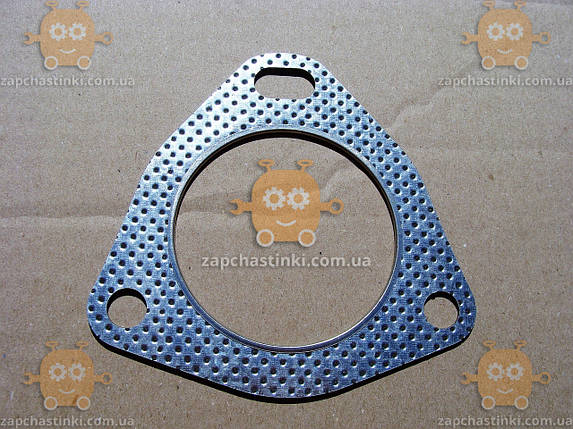 Прокладка катализатора Daewoo LANOS отверстие ф70мм (3 болта) (пр-во Корея) ЕЕ 5562, фото 2