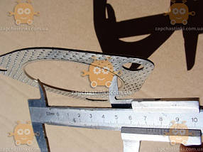Прокладка катализатора Daewoo LANOS отверстие ф70мм (3 болта) (пр-во Корея) ЕЕ 5562, фото 3