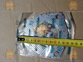 Прокладка приемной трубы Daewoo LANOS отверстие ф63мм (3 болта) (пр-во Genuine Корея) ЕЕ 12647, фото 2