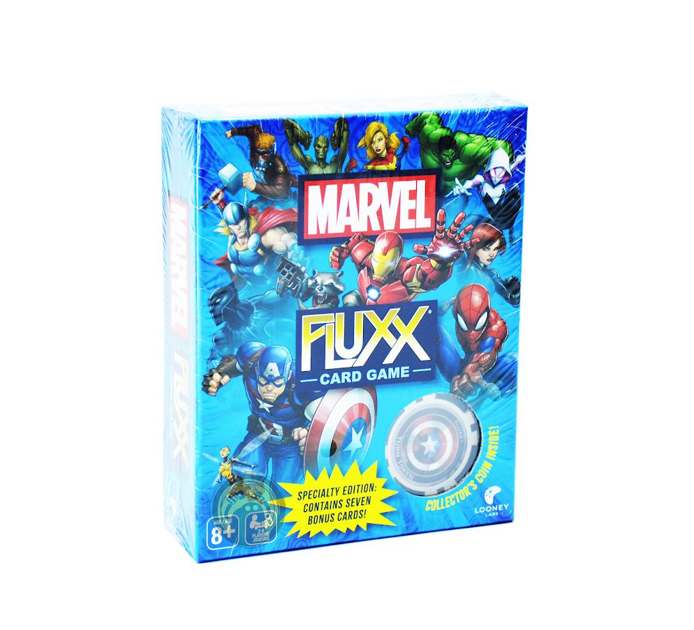 Настольная игра Fluxx Marvel