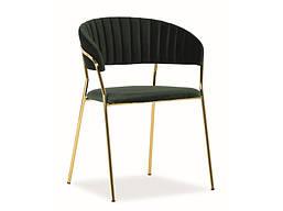 Кресло SIGNAL Lira Velvet зеленый