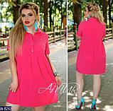 Стильное платье   (размеры 48-54) 0243-66, фото 2